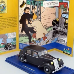 Tintin Citroen Traction 15