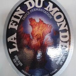Publicité bière La fin du monde